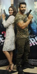 sonakshi sinha john abraham let out their inner force