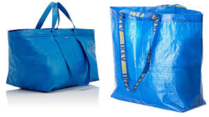 balenciaga launches ikea esque blue bag for 1 670 fashion news