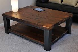 Coffee Tables Plans Pleasing Rustic Wood Coffee Table Decor Home Designs Insight