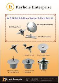 Bathtub Drain Assembly Installation Best 25 Bathtub Drain Stopper Ideas On Pinterest Drain Plugs