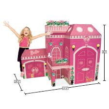 Barbie Dining Room by Neat Oh Barbie Full Size Play House Walmart Com