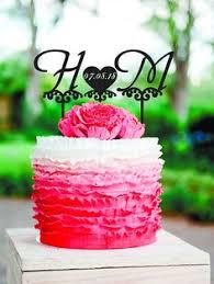 h cake topper letter h cake topper gold monogram wedding cake topper initial