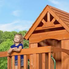 amazon com backyard discovery atlantis all cedar wood playset