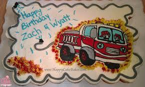 firetruck cakes happy cake baker