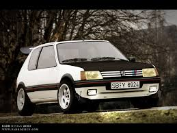 peugeot 205 gti view of peugeot 205 gti photos video features and tuning of