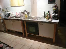 ikea edelstahl küche ikea udden küche modulküche in münchen untergiesing harlaching