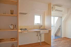 japanese kitchen design japanese kitchen with bamboo flooring and wooden cabinets and