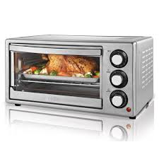 Toaster Oven Kmart Oster 6 Slice Convection Countertop Oven Stainless Steel
