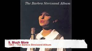 1963 the barbra streisand album 9 much more