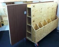 Plywood Storage Rack Free Plans by Lumber Storage Rack U0026 Cart By Swm Lumberjocks Com