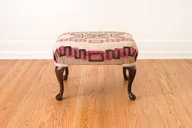 kilim rug ottoman homestead seattle