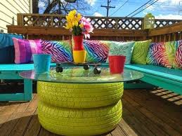 build your own outdoor table 20 remarkable diy outdoor furniture on a budget homesthetics