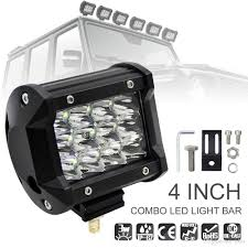security led lights car 4 inch 36w 5500lm modified car top led light with three rows light