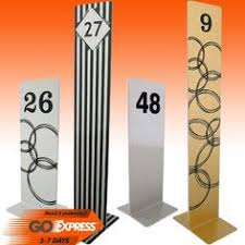 Vintage Table Number Holders 8 Wooden Table Number Holders W Vintage Card Numbers Wedding