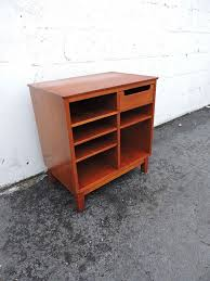 Small Office Cabinet Mid Century Mcm Danish Small Office Cabinet With Shelves And