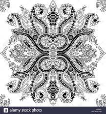 paisley pattern vector circular abstract geometric seamless paisley pattern traditional