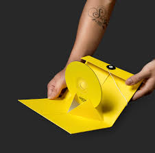 Origami Cd Cover - gbox corporate brand identity bratus