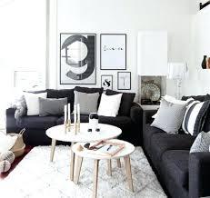 deco avec canap gris deco canape noir canape noir et blanc design canapac noir et blanc