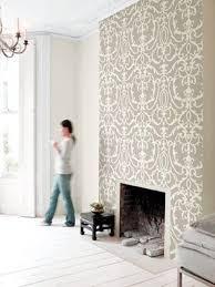 face the fireplace with moroccan or spanish ceramic floor tiles