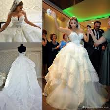 pnina tornai court train tulle lace ball gown wedding dresses