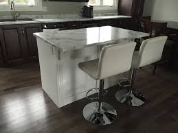 two tone wood stain and painted kitchen signature kitchens and baths