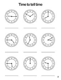 clock template and clock worksheets printable pdf