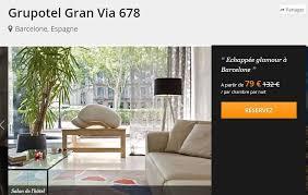 chambre pas cher barcelone hôtel 4 en plein centre de barcelone nuitée à 79 la chambre avec