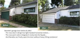 Miller Overhead Door by A Midcentury Modern Garage Door Made New For Nanette Retro