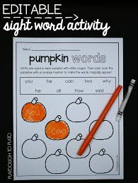 pumpkin activity packet kindergarten activities and literacy
