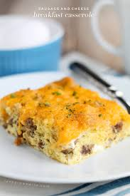 egg strata casserole sausage and cheese breakfast casserole love grows wild