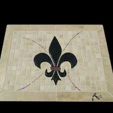 custom haughton louisiana tiger eye fleur de lis by krete