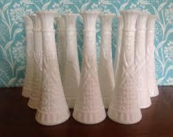 Milk Glass Vase Milk Glass Vase Etsy