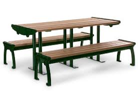plastic picnic tables bistro recycled plastic picnic table