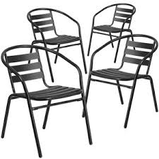 Patio Stack Chairs Stackable Outdoor Patio Chairs Wayfair