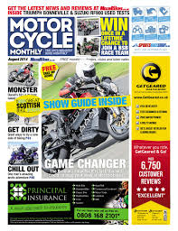 motor cycle monthly august 2014 full edition by mortons media