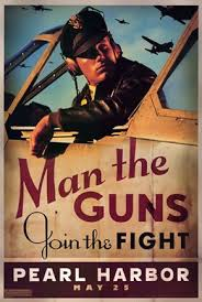 pearl harbor art deco man the guns wall poster by unknown at