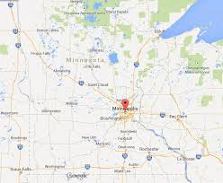 minnesota on map where is minneapolis on map of minnesota easy guides
