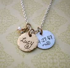 Personalized Necklaces For Moms New Mom Necklaces Trendy Necklaces For The Stylish New Mother