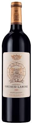 30 years of château gruaud château gruaud larose 2001 the sunday times wine club