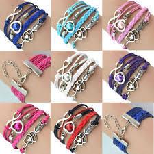 leather charm bracelet ebay images Antique bracelet ebay jpg