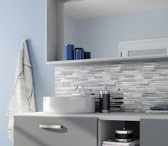gl tile backsplash in bathroom pros and cons of gl tile backsplash