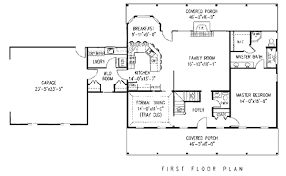 country open floor plans house plan 96814 at familyhomeplans com