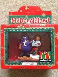mcdonalds ornament lot ronald mccheese hamburglar