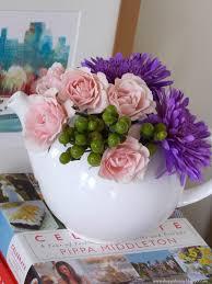 Arrangement Flowers by Teapot Flower Arrangement A Homemade Living