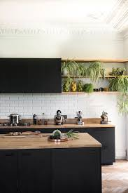 black kitchen cabinets with black hardware 75 beautiful kitchen with black cabinets pictures ideas