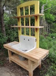 Garden Potting Bench Ideas Garden Potting Bench Plans Home Design Ideas