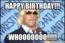 Ric Flair Memes - birthday