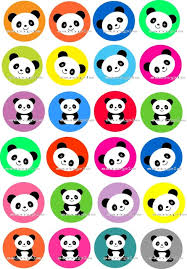 edible cake images 24 panda edible cake topper wafer rice paper for cake cookie
