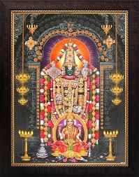 lord venkateswara pics avercart lord venkateswara tirupati balaji with laxmi poster with