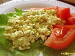 egg white salad cooking for love